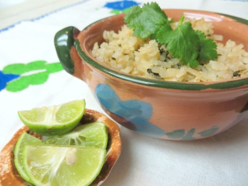 Tangy Cilantro-Lime Rice Photo Credit: Lola's Cocina