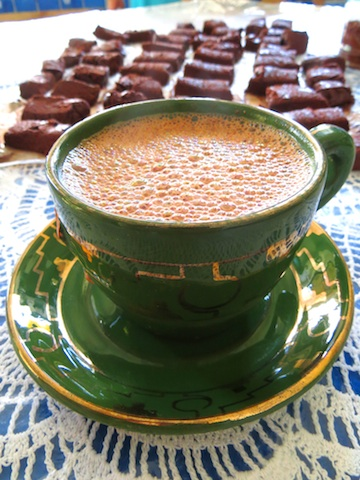 Mexican hot chocolate, Photo credit: Lola's Cocina