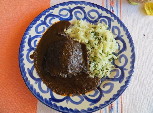 Mole Negro, Photo Credit: Lola's Cocina