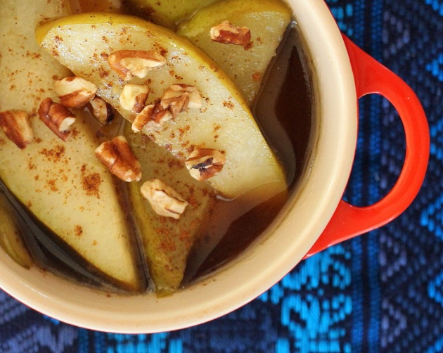 Reyna's Pears and Piloncillo