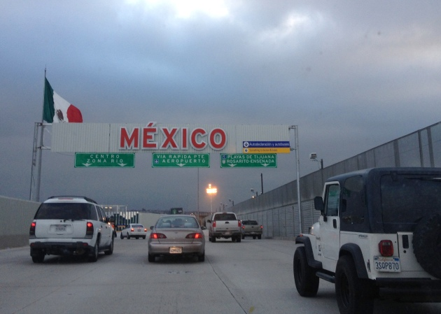New US-Mexico border entry, Photo credit: Lola's Cocina