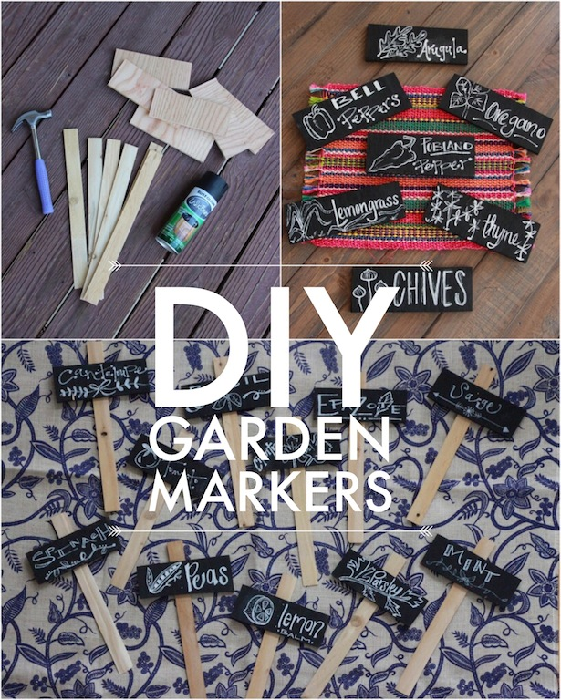 DIY Garden Markers for Spring