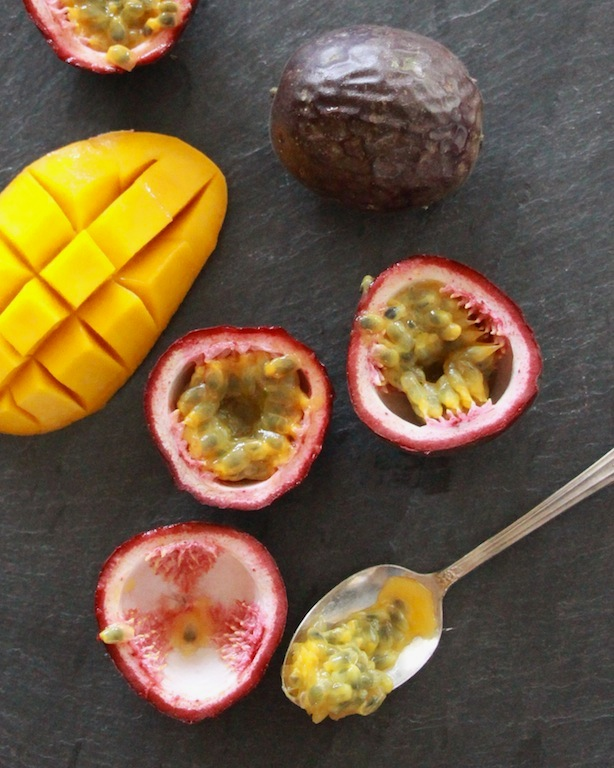 Mango Passion Fruit Sorbet Ingredients