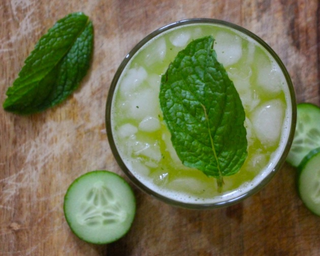 Refreshing Cucumber Agua Fresca by Lola's Cocina