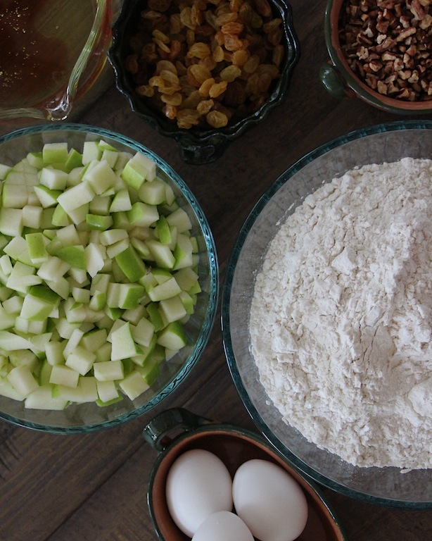 apple bread ingredients