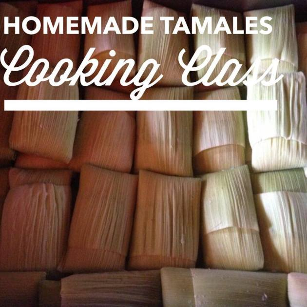 Homemade Tamales Cooking Class | Lola's Cocina