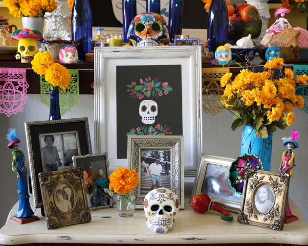 Photos from my Day of the Dead Altar | Lola's Cocina