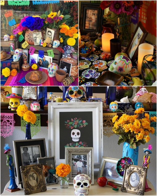 3 Day of the Dead Altars To Die For!