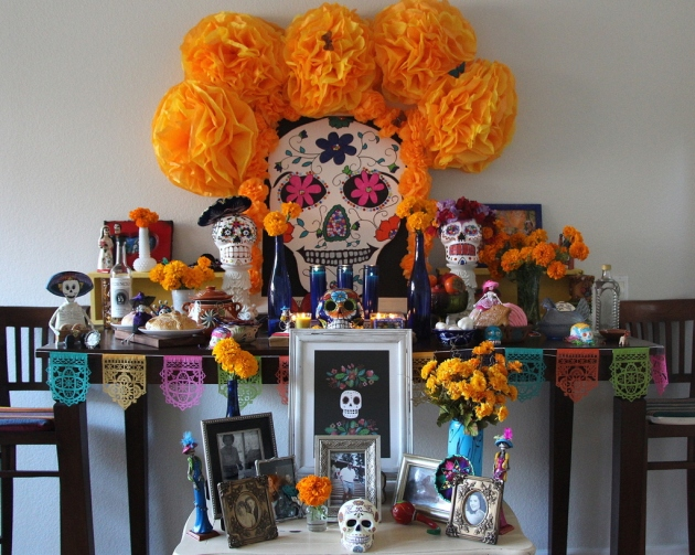 Day of the Dead altar by Lola's Cocina