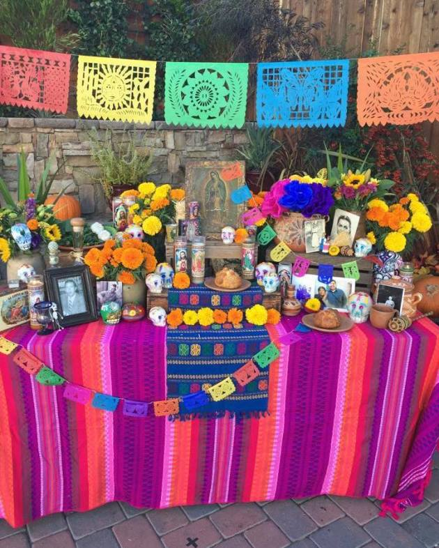 Day of the Dead Altar by Casa Artelexia