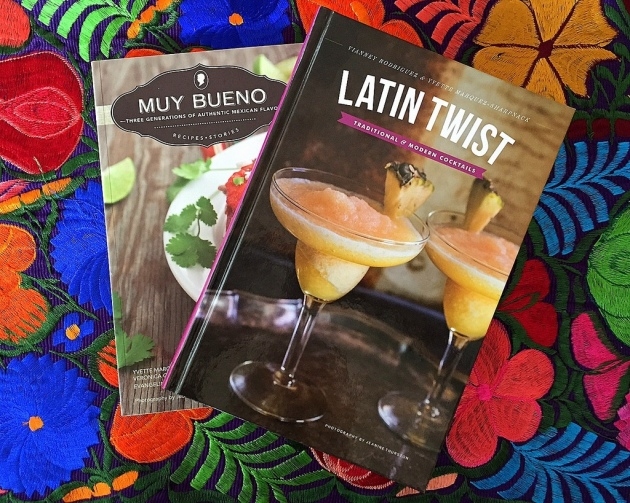 Latin Twist and Muy Bueno cookbooks