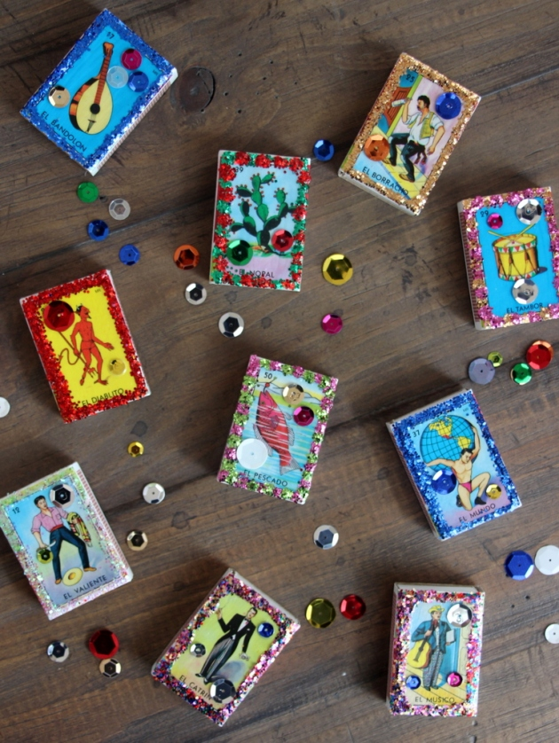 DIY Party Favors: Loteria Match Boxes | Lola's Cocina