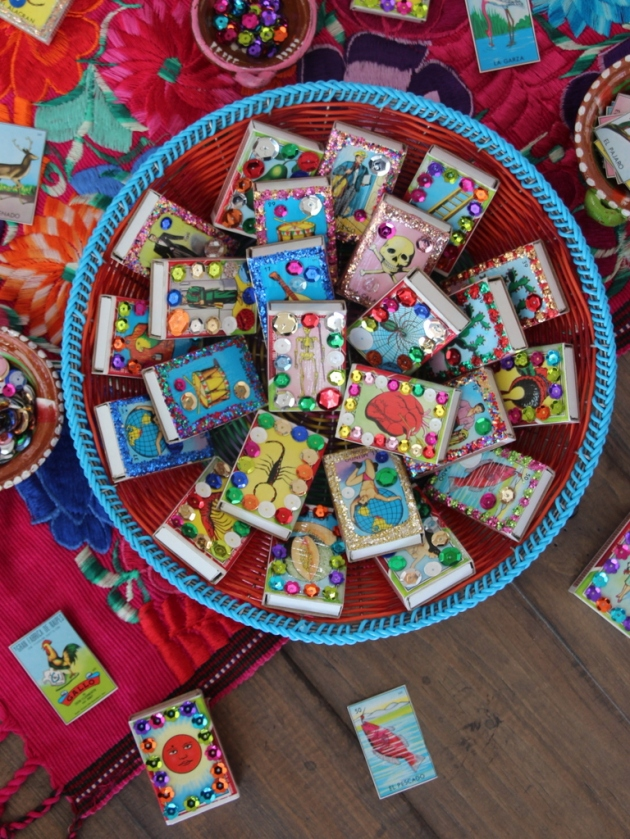 Diy Fiesta Favors Bedazzled Loter 237 A Match Boxes Lola S
