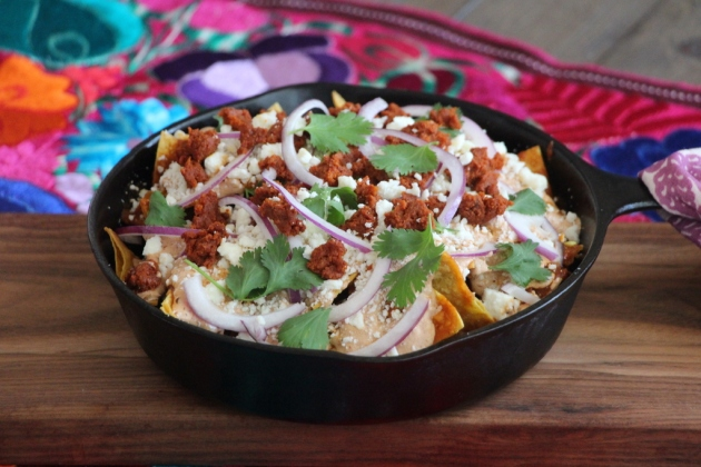 Red Chilaquiles | Lola's Cocina