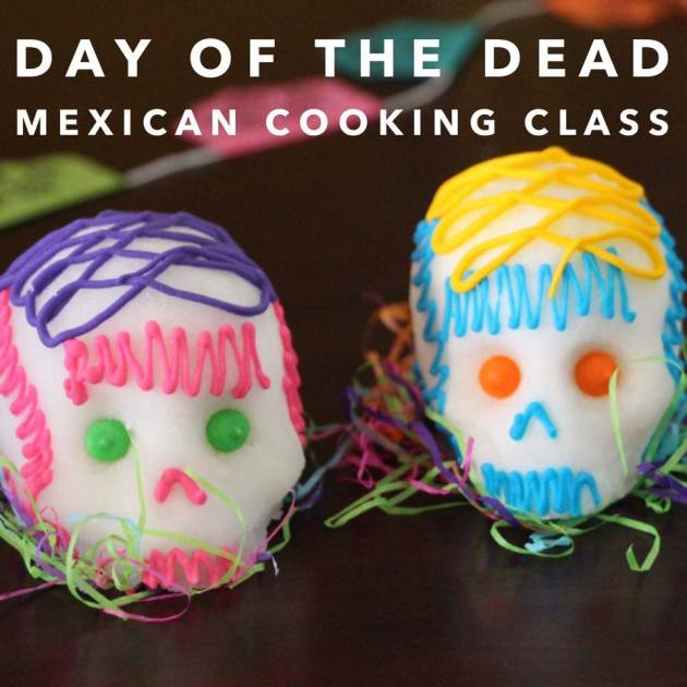 Day of the Dead Mexican Cooking Class | Lola's Cocina