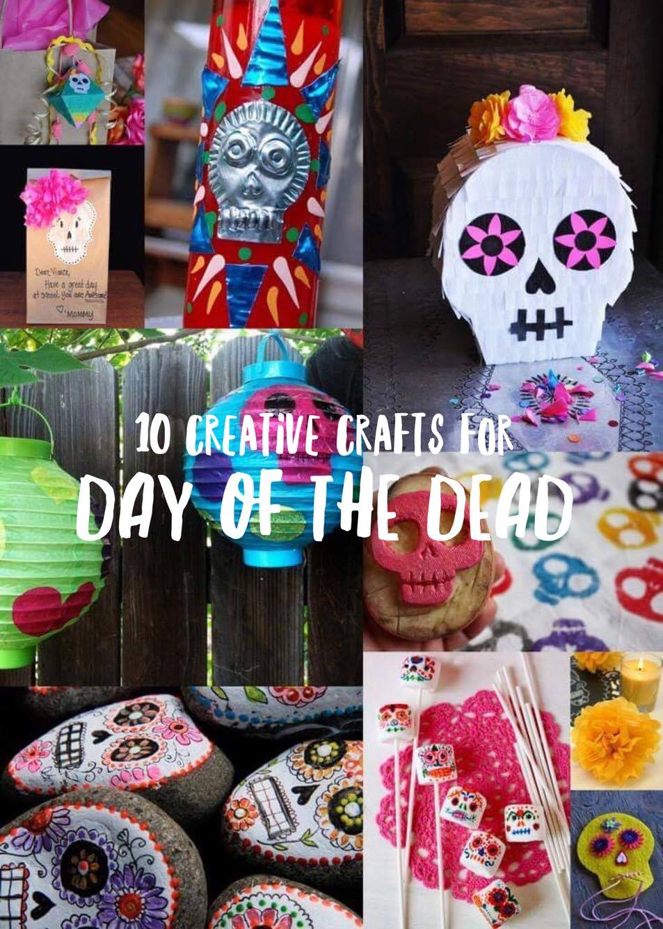 Creative Crafts for Day of the Dead | Lola's Cocina | www.lolascocina.com