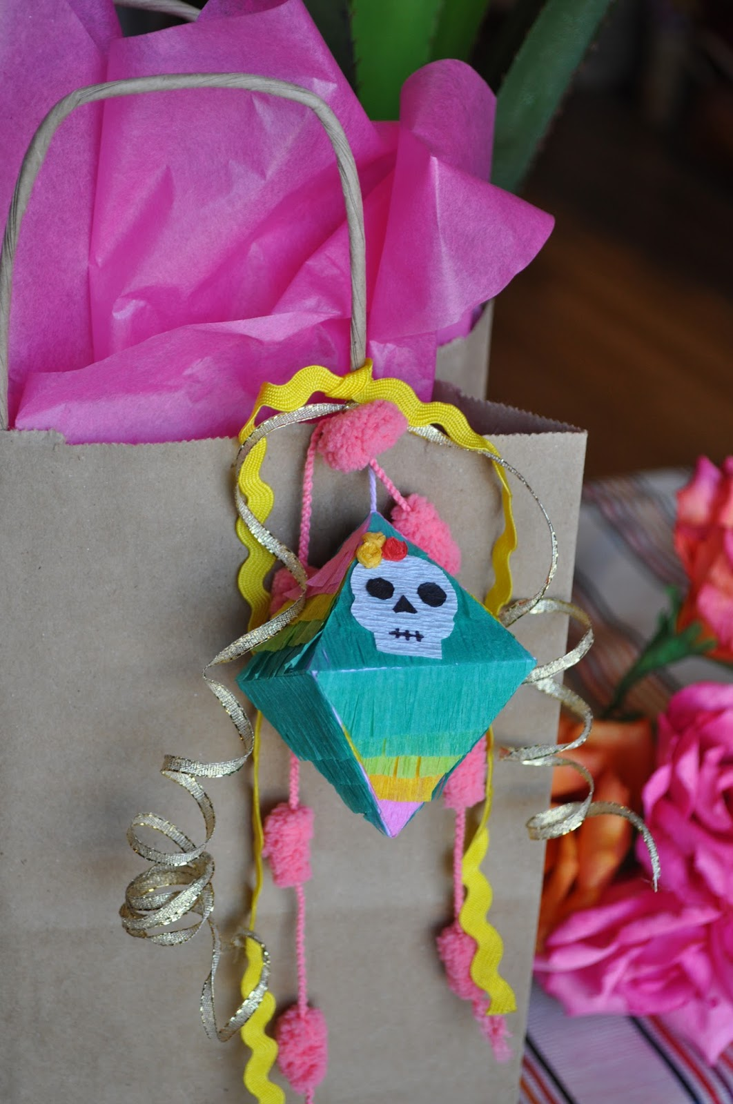 Mini Day of the Dead Pinatas | Casa Artelexia