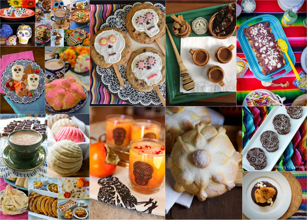 Day Of The Dead Food Recipes