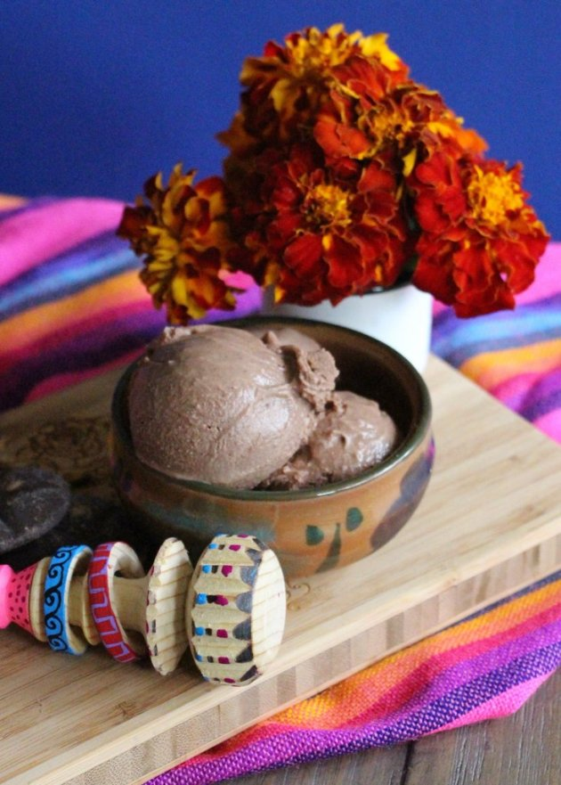 Mexican Chocolate Ice Cream to Die For | Lola's Cocina